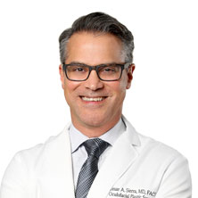 Cesar Sierra M.D. Cosmetic eyelid, Orbital & Reconstruction eye plastic surgeon head shot