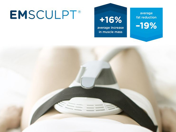 Dr. Sierra provides EMsculpt Connecticut for body contouring